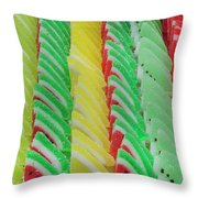 Fruit Jelly Candy Throw Pillow