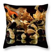 Frutti Di Mare Throw Pillow