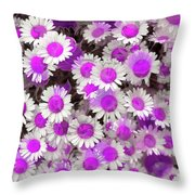 Fuscia Girls Throw Pillow