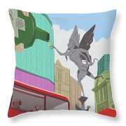 G And T Throw Pillow