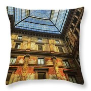 Galleria Sciarra Throw Pillow