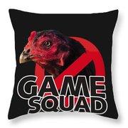 Game Squad Throw Pillow
