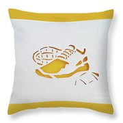 Game Time Throw Pillow by Phyllis Howard