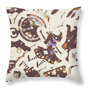 Games And Fairytales Throw Pillow