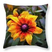Garden Gem Throw Pillow