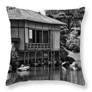 Garden Views II Throw Pillow