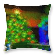 Gathering Around The Tree Of Our Shared Humanity Number 2  Throw Pillow