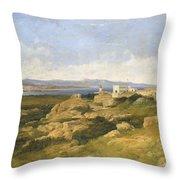 General Garibaldi S Residence At Caprera  Throw Pillow
