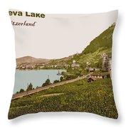 Geneva Lake Throw Pillow
