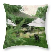 Gentility Impression  Throw Pillow