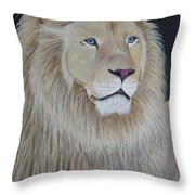 Gentle Paws Throw Pillow by Tracey Goodwin