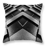 Geometric Night  Throw Pillow
