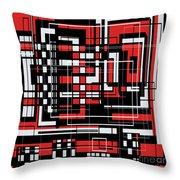 Geometric Stylization 2 Throw Pillow