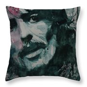 George Harrison - All Things Must Pass Throw Pillow