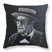 George Who? Throw Pillow by Richard Le Page