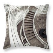 Getty Stairs Throw Pillow