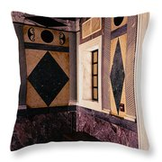 Getty Villa Interior  Throw Pillow