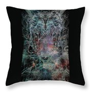 Ghost Galaxy  Throw Pillow