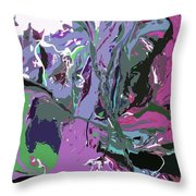 Ghosting Throw Pillow