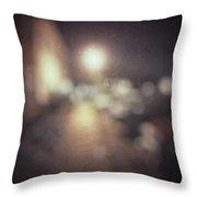 ghosts III Throw Pillow