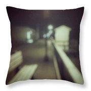 ghosts IV Throw Pillow