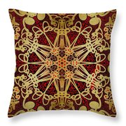 Gilded Throw Pillow by Mark Taylor