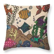 Gils Night Out Throw Pillow