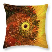 Girasole Throw Pillow by Kenneth Armand Johnson