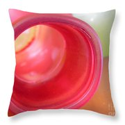 Glass Abstract 719 Throw Pillow