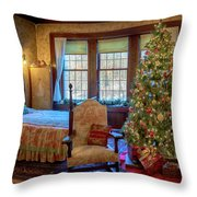 Glensheen Chester's Bedroom Throw Pillow by Susan Rissi Tregoning