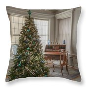 Glensheen Marjorie's Bedroom Throw Pillow by Susan Rissi Tregoning