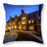 Glensheen Throw Pillow by Susan Rissi Tregoning