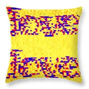 Glitched Love Throw Pillow by Bee-Bee Deigner
