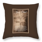 Glory 1 3 Throw Pillow