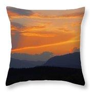 Good Night Carinthia Throw Pillow