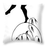 Gottliche Jugen Ein Tag Aus Dem Sonnenlande By Diefenbach Throw Pillow