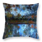 Goulburn Reflections Throw Pillow