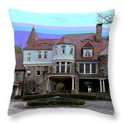 Graceland Mansion  Throw Pillow