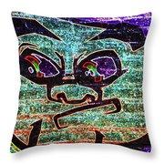 Graffiti 7 Throw Pillow