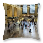 Grand Central Motion Throw Pillow