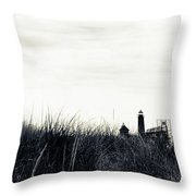 Grand Haven Throw Pillow by Michelle Wermuth
