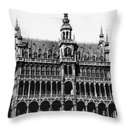 Grand Palace, Brussels Throw Pillow