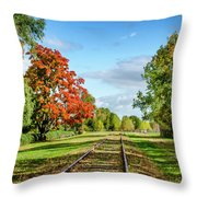 Grand-pre National Historic Site Throw Pillow