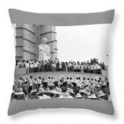 Jose Marti Memorial Throw Pillow