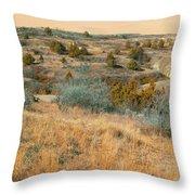 Grassy Ridge Reverie Throw Pillow