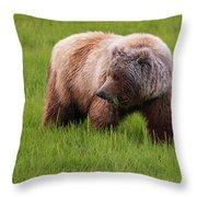Grazing Throw Pillow