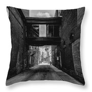Gritty City  Throw Pillow