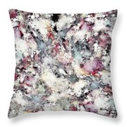 Ground Frost Throw Pillow