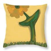 Growing Bronze Throw Pillow