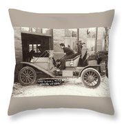 Had Trouble With My Driving Lesson Throw Pillow